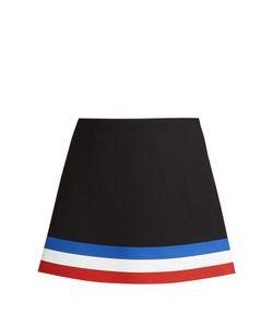 J.W.Anderson | Striped-Hem Neoprene Mini Skirt