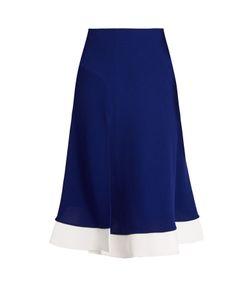 Esteban Cortazar   Contrast-Hem Jersey Skirt