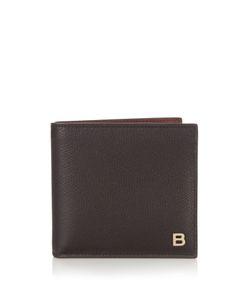 Balenciaga | B-Line Bi-Fold Leather Wallet
