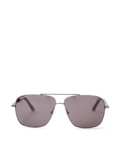 Salvatore Ferragamo | Rectangle-Frame Sunglasses