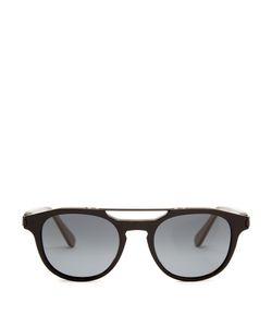 Brioni | Aviator Acetate Sunglasses