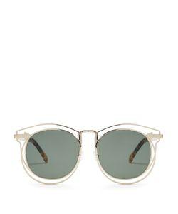 Karen Walker Eyewear | Simone Round-Frame Sunglasses