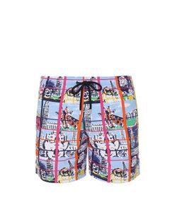 Vilebrequin | Moorea Animal Selfie Swim Shorts