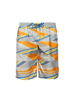 Missoni | Geometric-Print Swim Shorts