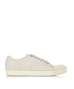 Lanvin | Low-Top Leather Trainers