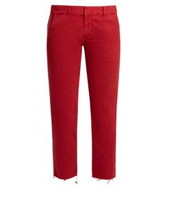 Nili Lotan | East Hampton Stretch-Cotton Trousers