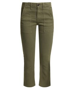 The Great | The Army Nerd Cotton-Blend Trousers