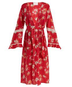 Athena Procopiou   Gypsy Soul Silk Long-Sleeved Cover-Up