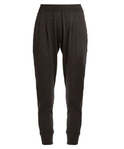 Brunello Cucinelli | Monili-Embellished Cashmere-Blend Track Pants