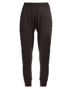 Brunello Cucinelli | Monili-Embellished Cashmere-Blend Track Pants