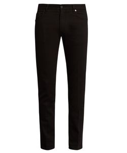 Fendi | Embellished Slim-Leg Jeans