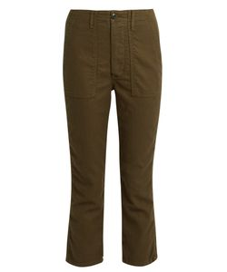 The Great | The Gusset Low-Slung Cropped Trousers