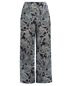 ACNE STUDIOS | Tennessee Paisley-Print Wide-Leg Trousers