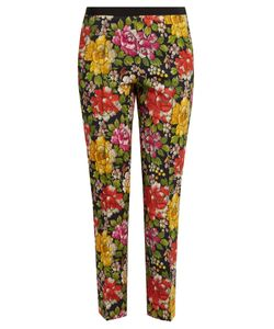 Etro | Gemma Print Stretch-Cotton Trousers