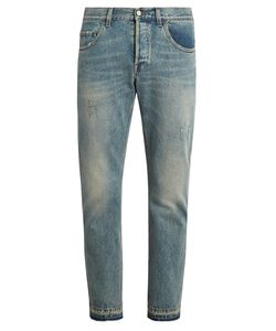 Gucci | Distressed Slim-Leg Jeans