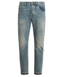 Gucci | Distressed Slim-Leg Jeans