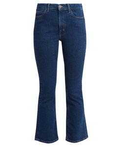 M.i.h Jeans   Marty Cropped Flare Jeans