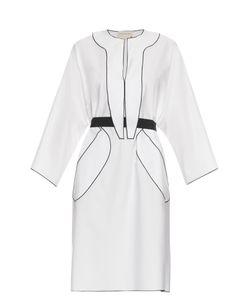 Maison Rabih Kayrouz | Belted Cotton-Poplin Dress