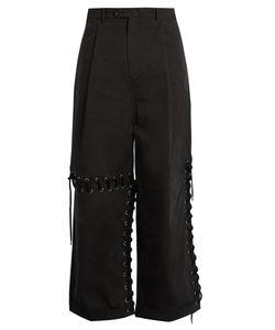 Craig Green | Laced-Seam Wide-Leg Cotton Trousers