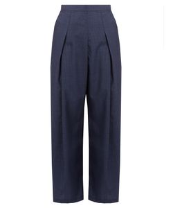 Rachel Comey | Nova Hounds-Tooth Wool Wide-Leg Trousers