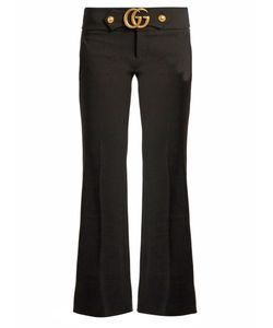 Gucci | Gg Stretch-Cady Kick-Flare Trousers