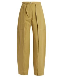 Lemaire | High-Rise Wide-Leg Cotton Cargo Trousers