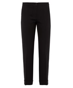 Etro | Milano Slim-Leg Stretch-Cady Cropped Trousers