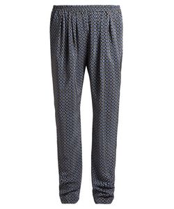 Stella McCartney | Christine Pleated-Front Geometric-Print Trousers