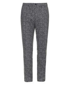 Maison Kitsuné | Camouflage-Print Wool Trousers