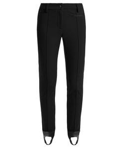 Fendi   High-Rise Stirrup-Hem Stretch-Twill Trousers