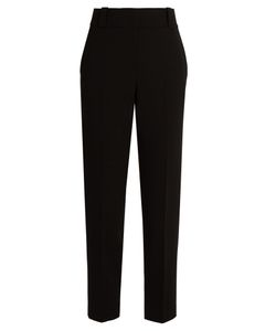 The Row | Blake Wool-Blend Cropped Trousers