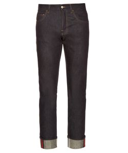 Gucci | Slim-Leg Turn-Up Jeans