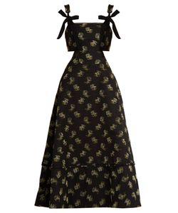 Erdem | Salome Ottoman Cotton-Blend Dress