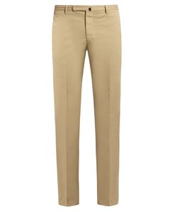 Incotex | Cotton-Blend Slim-Fit Chino Trousers