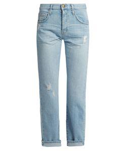 Current/Elliott | The Original Mid-Rise Straight-Leg Jeans