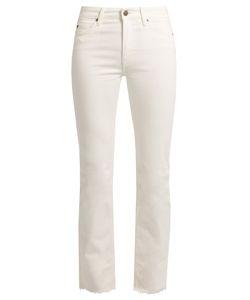 M.i.h Jeans   Daily Raw-Hem High-Rise Slim-Leg Jeans