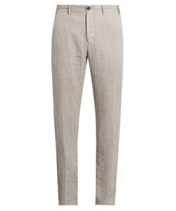 J.W. BRINE | Mike Straight-Leg Linen Trousers