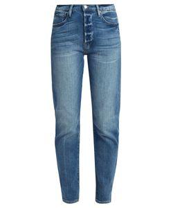 FRAME | Le Original Straight-Leg Stepped-Hem Jeans