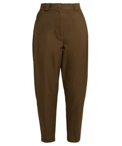 Rachel Comey | Leonard Cotton-Blend High-Rise Tapered Trousers