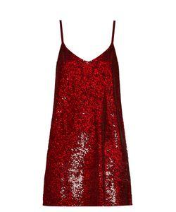 Ashish | Sequin-Embellished Silk-Georgette Mini Dress