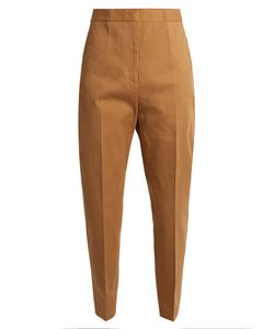 Jil Sander | Attila Cropped Cotton Trousers