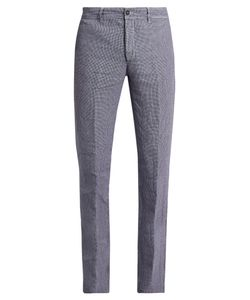 Massimo Alba | Winch Slim-Leg Linen Trousers