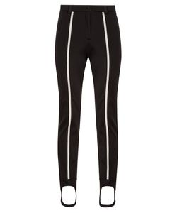Fendi   Contrast-Stripe Stirrup-Hem Ski Trousers