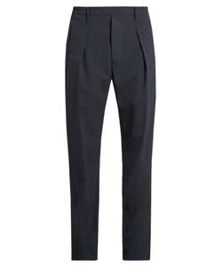Lemaire | Pleated Straight-Leg Wool-Blend Trousers