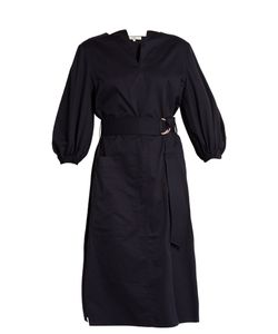 Tibi | Cotton-Poplin Dress