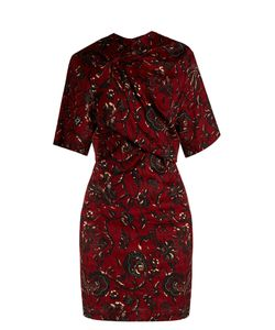 Isabel Marant Etoile | Jade Twist-Frontprint Dress