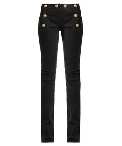 Balmain | Mid-Rise Kick-Flare Jeans