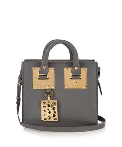 Sophie Hulme | Mini Albion Box Leather Cross-Body Bag