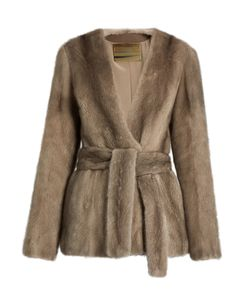 Brock Collection | Faye Mink-Fur Jacket
