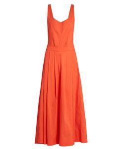 KALITA   Fonteyn And The Slipper Apron Silk-Blend Dress